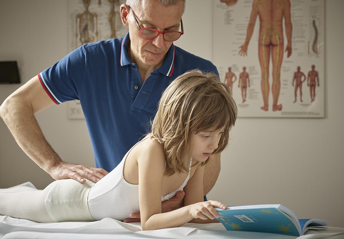 Osteopatia per neonati e bambini